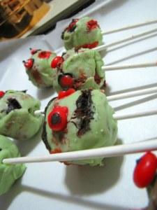 Cake Pop Zombies
